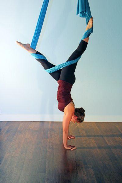 san jose Aerial Yoga Teacher Training Aerial Hammock Installation